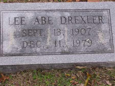 DREXLER, LEE ABE - Cross County, Arkansas | LEE ABE DREXLER - Arkansas Gravestone Photos
