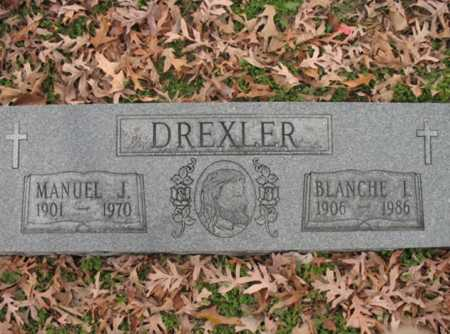 DREXLER, BLANCHE L - Cross County, Arkansas | BLANCHE L DREXLER - Arkansas Gravestone Photos