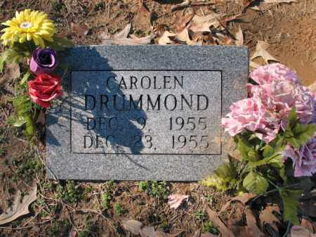 DRUMMOND, CAROLEN - Cross County, Arkansas | CAROLEN DRUMMOND - Arkansas Gravestone Photos