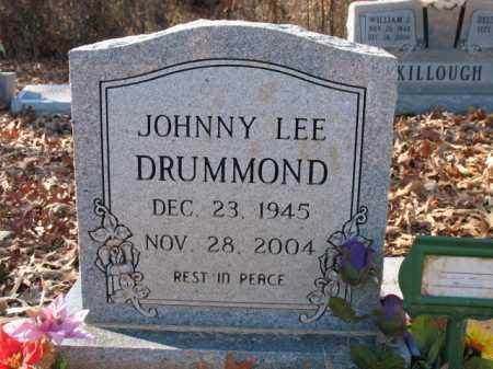 DRUMMOND, JOHNNY LEE - Cross County, Arkansas | JOHNNY LEE DRUMMOND - Arkansas Gravestone Photos