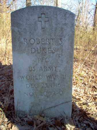 DUKES (VETERAN WWII), ROBERT S - Cross County, Arkansas | ROBERT S DUKES (VETERAN WWII) - Arkansas Gravestone Photos