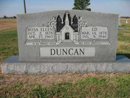 DUNCAN, ROSA ELLEN - Cross County, Arkansas | ROSA ELLEN DUNCAN - Arkansas Gravestone Photos