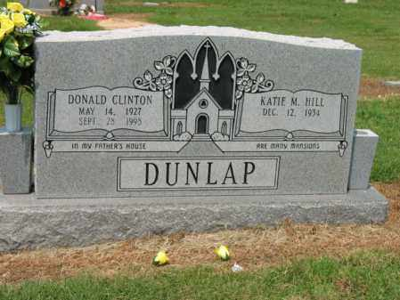 DUNLAP, DONALD CLINTON - Cross County, Arkansas | DONALD CLINTON DUNLAP - Arkansas Gravestone Photos
