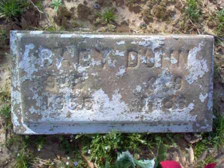 DUNN, BABY - Cross County, Arkansas | BABY DUNN - Arkansas Gravestone Photos