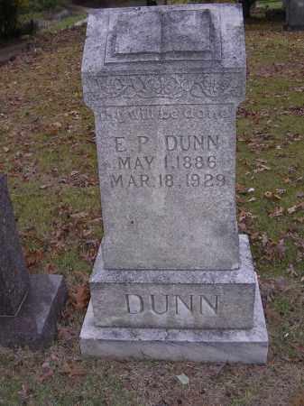 DUNN, E P - Cross County, Arkansas | E P DUNN - Arkansas Gravestone Photos