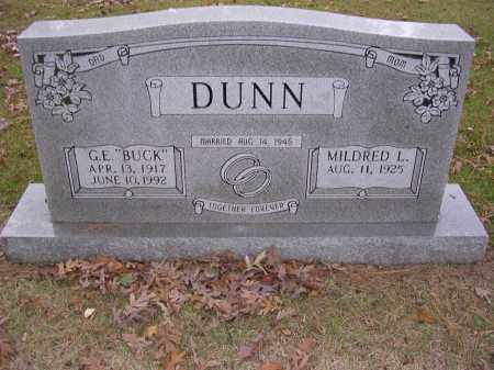 DUNN, GODFREY  ERNEST (LITTLE BUCK) - Cross County, Arkansas | GODFREY  ERNEST (LITTLE BUCK) DUNN - Arkansas Gravestone Photos