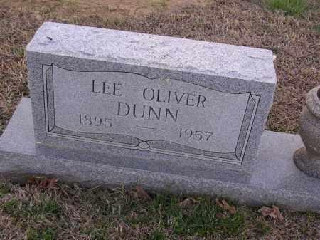 DUNN, LEE OLIVER - Cross County, Arkansas | LEE OLIVER DUNN - Arkansas Gravestone Photos