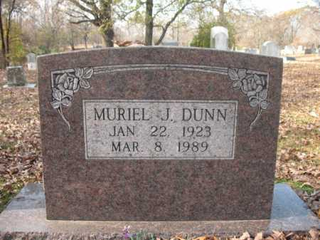 DUNN, MURIEL J - Cross County, Arkansas | MURIEL J DUNN - Arkansas Gravestone Photos