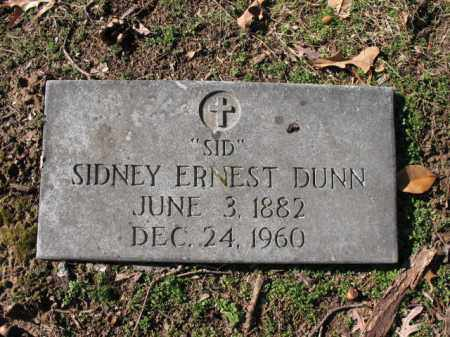 "DUNN, SIDNEY ERNEST ""SID"" - Cross County, Arkansas 