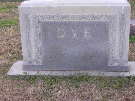 DYE, PLOT STONE - Cross County, Arkansas | PLOT STONE DYE - Arkansas Gravestone Photos