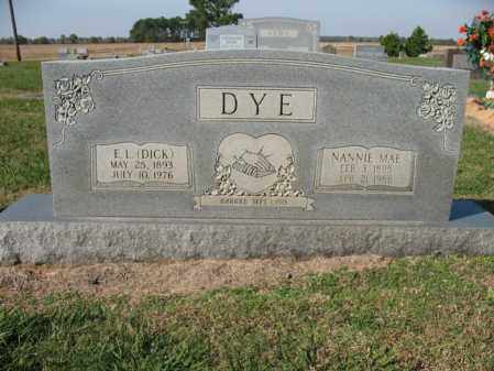 DYE, NANNIE MAE - Cross County, Arkansas | NANNIE MAE DYE - Arkansas Gravestone Photos