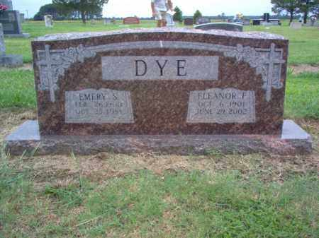 DYE, EMERY S - Cross County, Arkansas | EMERY S DYE - Arkansas Gravestone Photos