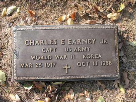 EARNEY, JR (VETERAN 2 WARS), CHARLES E - Cross County, Arkansas | CHARLES E EARNEY, JR (VETERAN 2 WARS) - Arkansas Gravestone Photos