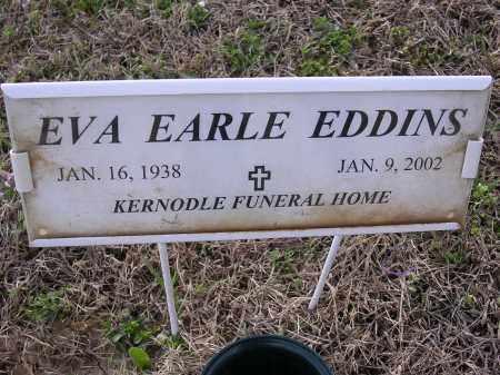 EDDINS, EVA EARLE - Cross County, Arkansas | EVA EARLE EDDINS - Arkansas Gravestone Photos