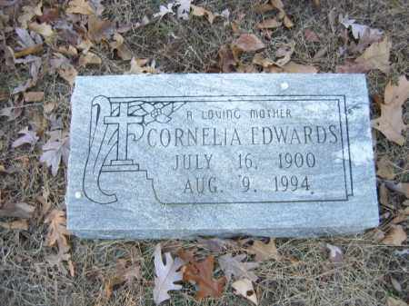 EDWARDS, CORNELIA - Cross County, Arkansas | CORNELIA EDWARDS - Arkansas Gravestone Photos