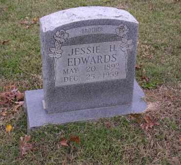 EDWARDS, JESSIE H - Cross County, Arkansas | JESSIE H EDWARDS - Arkansas Gravestone Photos