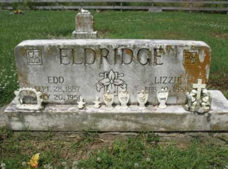 ELDRIDGE, LIZZIE - Cross County, Arkansas | LIZZIE ELDRIDGE - Arkansas Gravestone Photos