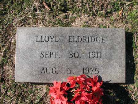 ELDRIDGE, LLOYD - Cross County, Arkansas | LLOYD ELDRIDGE - Arkansas Gravestone Photos