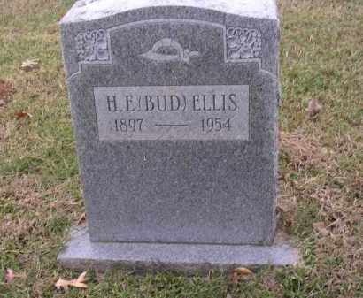 ELLIS, H E (BUD) - Cross County, Arkansas | H E (BUD) ELLIS - Arkansas Gravestone Photos