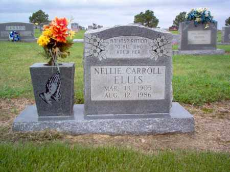 ELLIS, NELLIE CARROLL - Cross County, Arkansas | NELLIE CARROLL ELLIS - Arkansas Gravestone Photos