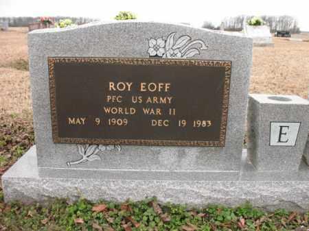 EOFF (VETERAN WWII), ROY - Cross County, Arkansas | ROY EOFF (VETERAN WWII) - Arkansas Gravestone Photos
