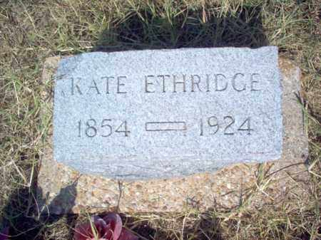 ETHRIDGE, KATE - Cross County, Arkansas | KATE ETHRIDGE - Arkansas Gravestone Photos