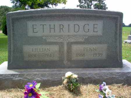 ETHRIDGE, LILLIAN - Cross County, Arkansas | LILLIAN ETHRIDGE - Arkansas Gravestone Photos