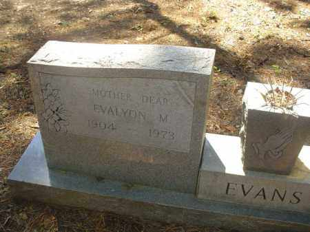 EVANS, EVALYON M - Cross County, Arkansas | EVALYON M EVANS - Arkansas Gravestone Photos