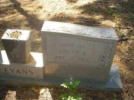 "EVANS, JOSEPH E ""DADDY JOE"" - Cross County, Arkansas | JOSEPH E ""DADDY JOE"" EVANS - Arkansas Gravestone Photos"