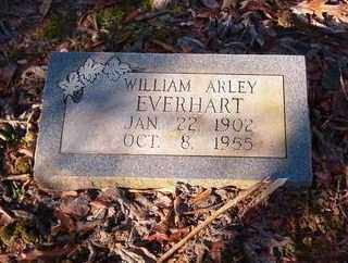 EVERHART, WILLIAM ARLEY - Cross County, Arkansas | WILLIAM ARLEY EVERHART - Arkansas Gravestone Photos