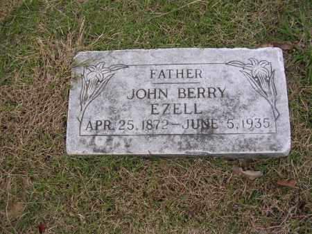 EZELL, JOHN BERRY - Cross County, Arkansas | JOHN BERRY EZELL - Arkansas Gravestone Photos