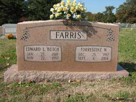 "FARRIS, EDWARD L ""BUTCH"" - Cross County, Arkansas 