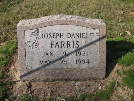 FARRIS, JOSEPH DANIEL - Cross County, Arkansas | JOSEPH DANIEL FARRIS - Arkansas Gravestone Photos