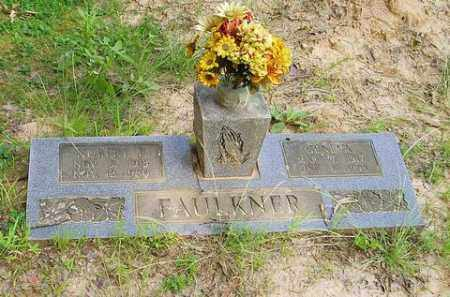 FAULKNER, HUBERT F. - Cross County, Arkansas | HUBERT F. FAULKNER - Arkansas Gravestone Photos