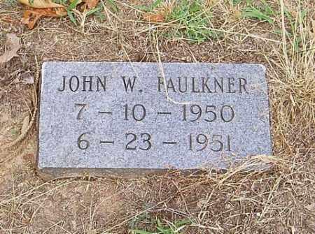 FAULKNER, JOHN W. - Cross County, Arkansas | JOHN W. FAULKNER - Arkansas Gravestone Photos