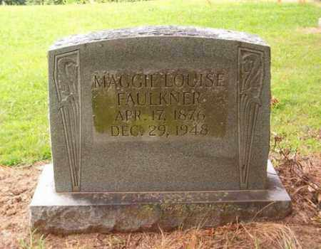 FAULKNER, MAGGIE LOUISE - Cross County, Arkansas | MAGGIE LOUISE FAULKNER - Arkansas Gravestone Photos