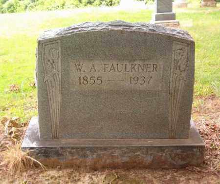 FAULKNER, W. A. - Cross County, Arkansas | W. A. FAULKNER - Arkansas Gravestone Photos
