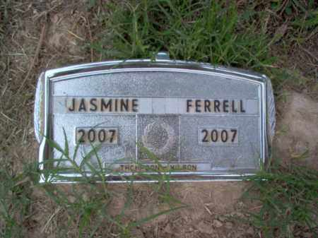 FERRELL, JASMINE - Cross County, Arkansas | JASMINE FERRELL - Arkansas Gravestone Photos