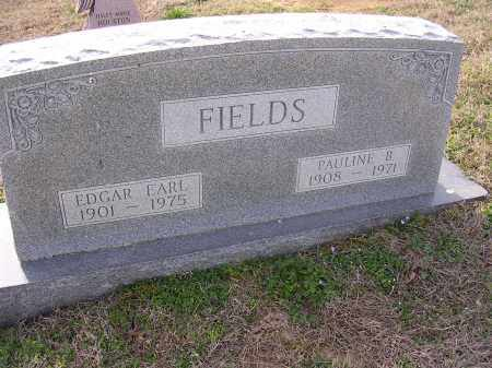 FIELDS, EDGAR EARL - Cross County, Arkansas | EDGAR EARL FIELDS - Arkansas Gravestone Photos