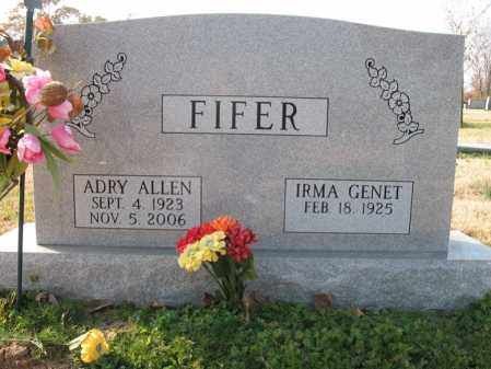 FIFER, ADRY ALLEN - Cross County, Arkansas | ADRY ALLEN FIFER - Arkansas Gravestone Photos
