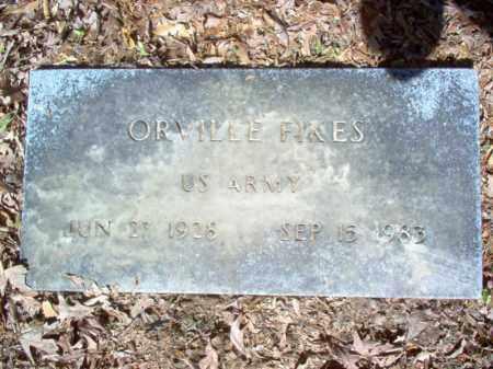 FIKES (VETERAN), ORVILLE - Cross County, Arkansas | ORVILLE FIKES (VETERAN) - Arkansas Gravestone Photos