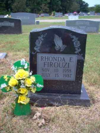 FIROUZI, RHONDA E - Cross County, Arkansas | RHONDA E FIROUZI - Arkansas Gravestone Photos