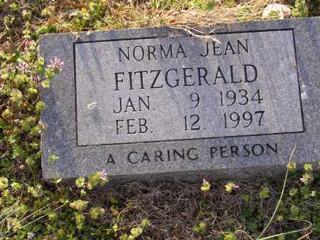 FITGERALD, NORMA JEAN - Cross County, Arkansas | NORMA JEAN FITGERALD - Arkansas Gravestone Photos