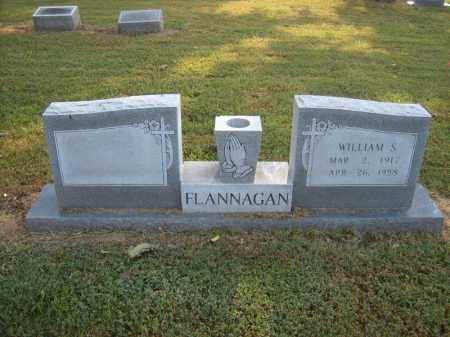 FLANNAGAN, WILLIAM S - Cross County, Arkansas | WILLIAM S FLANNAGAN - Arkansas Gravestone Photos