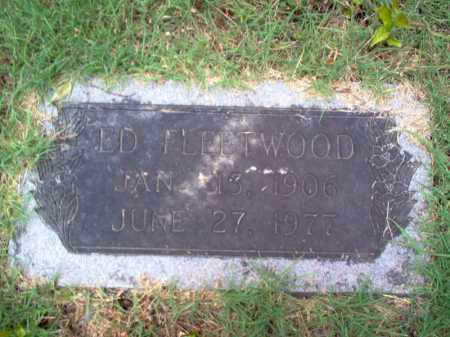 FLEETWOOD, ED - Cross County, Arkansas | ED FLEETWOOD - Arkansas Gravestone Photos