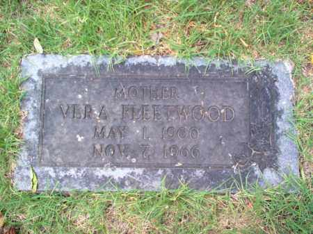 FLEETWOOD, VERA - Cross County, Arkansas | VERA FLEETWOOD - Arkansas Gravestone Photos