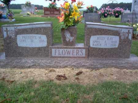 FLOWERS, BILLY RAY - Cross County, Arkansas | BILLY RAY FLOWERS - Arkansas Gravestone Photos