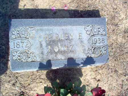 FOLTZ, CHARLEY E - Cross County, Arkansas   CHARLEY E FOLTZ - Arkansas Gravestone Photos