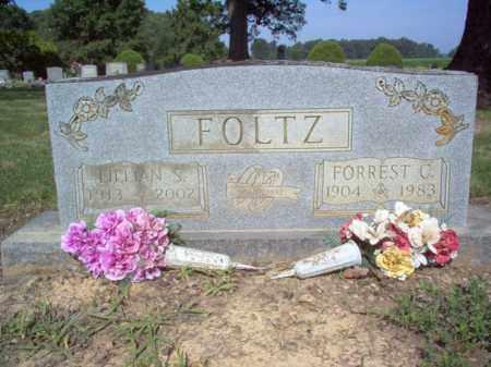 FOLTZ, FORREST C - Cross County, Arkansas | FORREST C FOLTZ - Arkansas Gravestone Photos