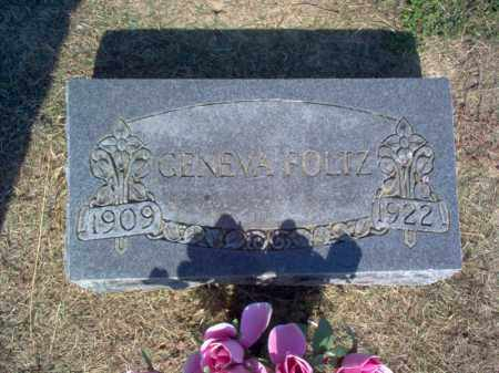 FOLTZ, GENEVA - Cross County, Arkansas | GENEVA FOLTZ - Arkansas Gravestone Photos